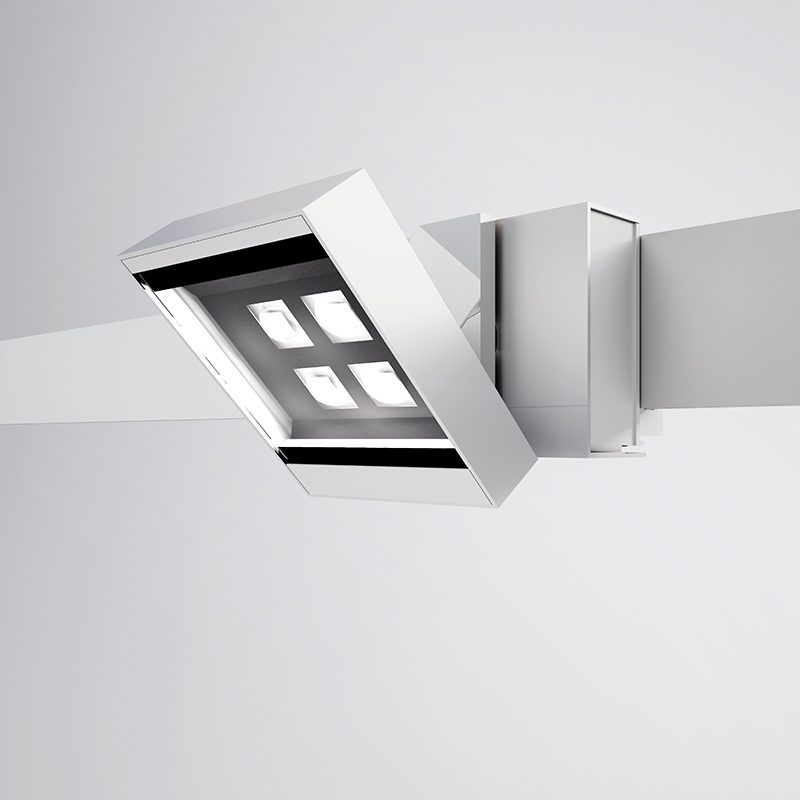 Neutra by Letroh – 3 3/8″ x 4 1/16″ Track, Spots offers LED lighting solutions | Zaneen Architectural