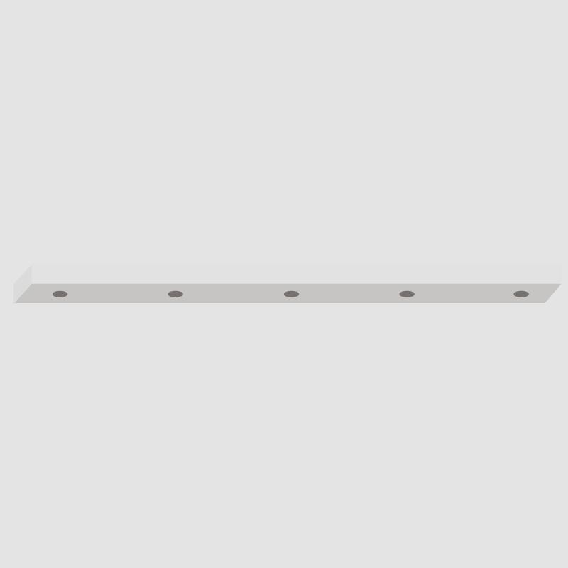 Jazz by Panzeri – 30″ x 1″ Surface,  offers quality European interior lighting design | Zaneen Design