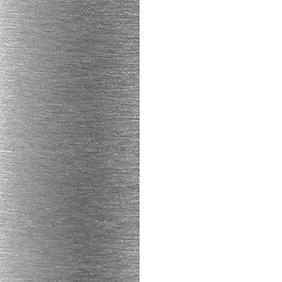 BAL_WHI - Brushed Aluminum And White
