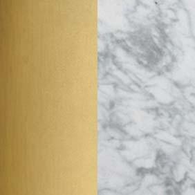 BRA_WHM - Brass and  Black Marble