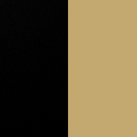 MBG - Matte  Black and Gold