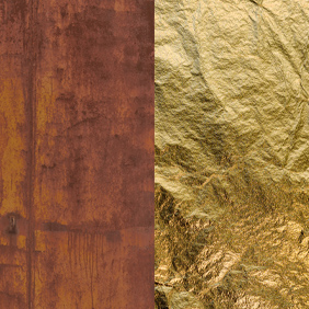 RGF - Rust/Gold Leaf