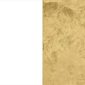 WGF - White/Gold Leaf