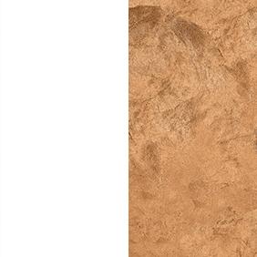 WCL - White/Copper Leaf