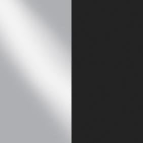 SSB - Satin Steel/Black