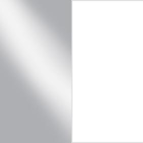 SSW - Satin Steel/White
