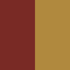 BUG - Burgundy Lacquer/Gold Lacquer