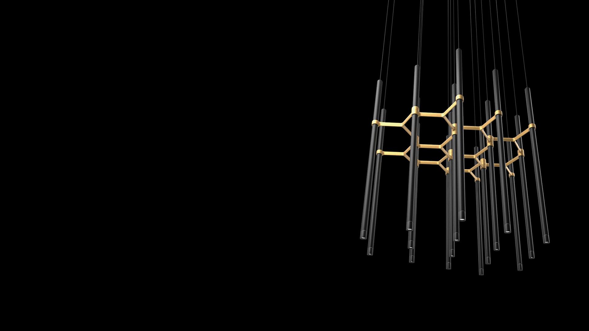 Zaneen lighting supplier of Metropolis from Studio Zaneen