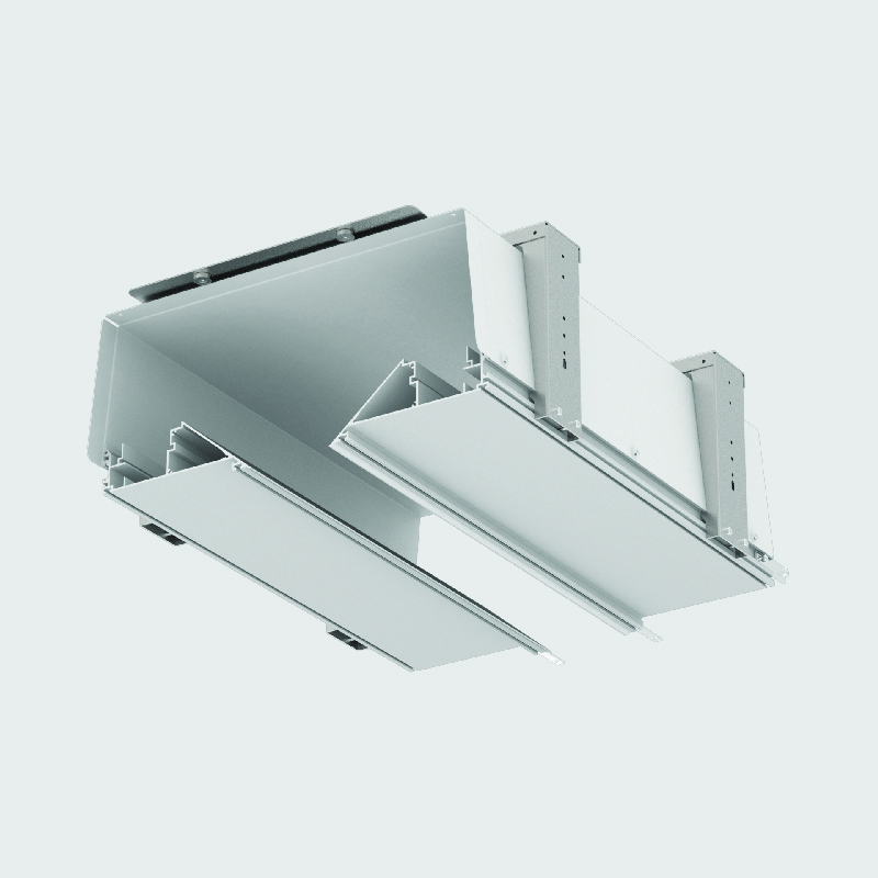2Look4 by Prolicht – 19 11/16 / 39 3/8 / 59 1/16 / 70 7/8″ x 7 7/8″ Trimless, Profile offers LED lighting solutions | Zaneen Architectural