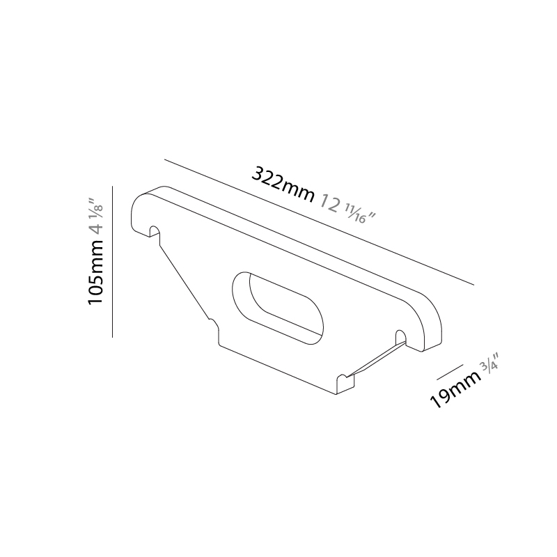 2Look4 by Prolicht – 12 11/16″ x 4 1/8″ ,  offers LED lighting solutions   Zaneen Architectural
