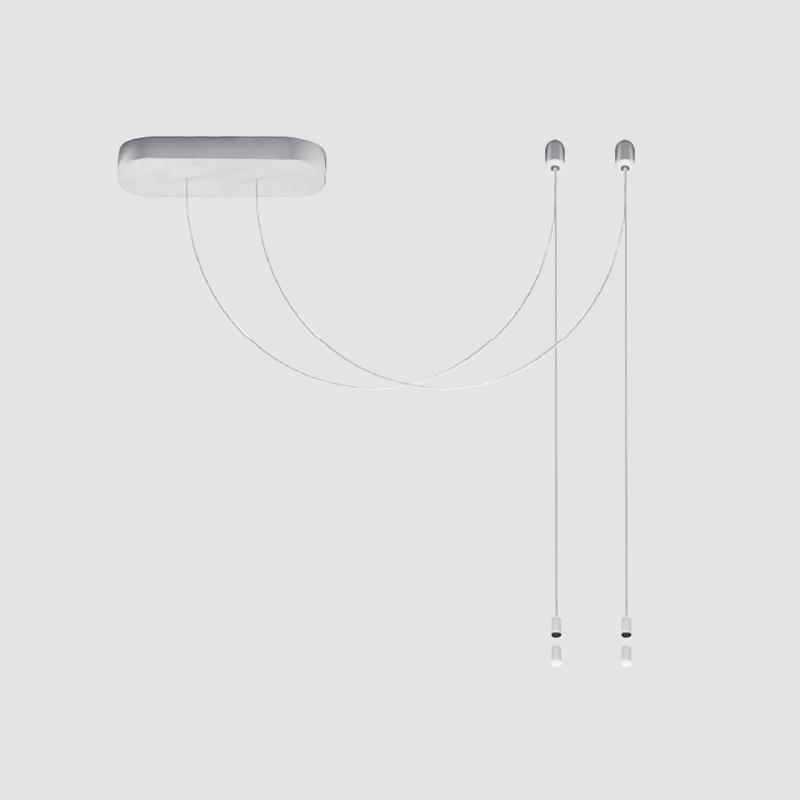 Acqua by Cini & Nils – 13″ x 1 3/4″ , Modular offers quality European interior lighting design   Zaneen Design