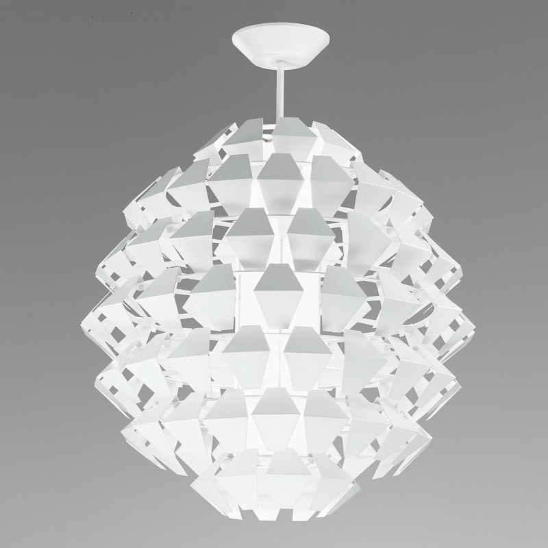Agave by Panzeri – 27 15/16″ x 33 1/16″ Suspension, Ambient offers quality European interior lighting design | Zaneen Design