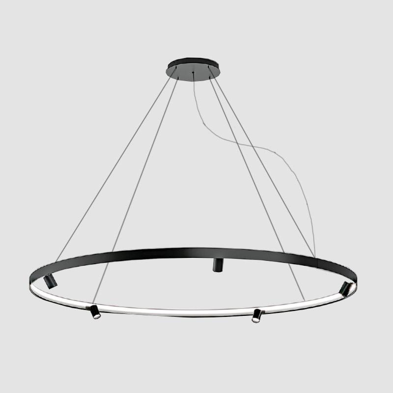 Arena by Panzeri – 76 3/8″ x 2 1/16″ Suspension, Pendant offers quality European interior lighting design | Zaneen Design