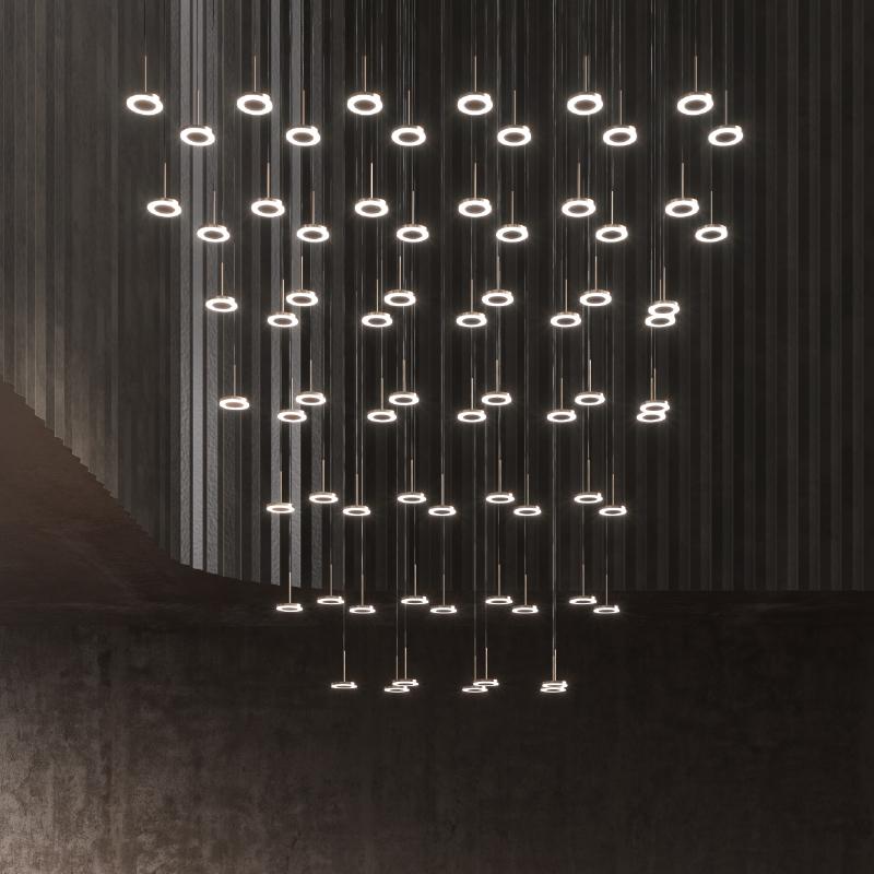 Bella by Panzeri –  Suspension, Modular offers quality European interior lighting design | Zaneen Design