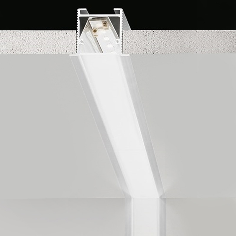 Brooklyn by Panzeri – Custom length″ x 1 3/8″ Recessed, Profile offers LED lighting solutions | Zaneen Architectural