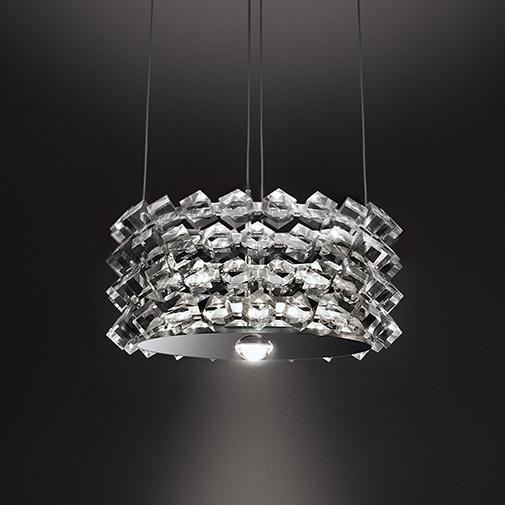 Collier by Cini & Nils – 12 5/8″ x 7/8″ Suspension, Pendant offers quality European interior lighting design | Zaneen Design