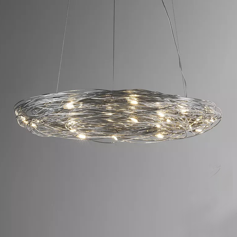Confusione by Knikerboker – 29 1/2″ Suspension, Ambient offers quality European interior lighting design | Zaneen Design