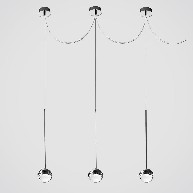 Convivio by Cini & Nils – 4 5/16″ Suspension, Pendant offers quality European interior lighting design   Zaneen Design
