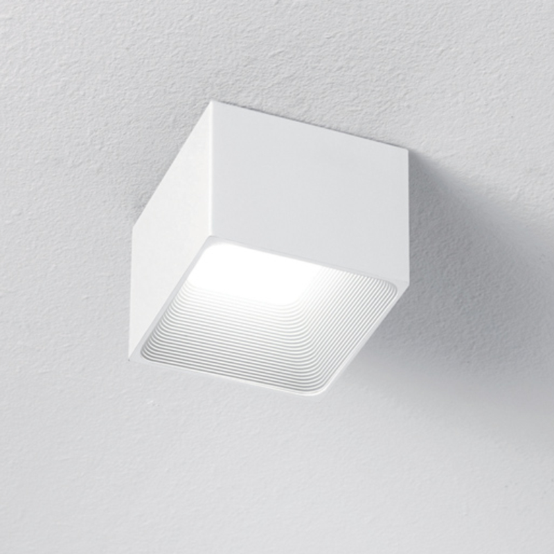 Darma by Icone – 3 15/16″ x 3 1/8″ Surface, Downlight offers quality European interior lighting design | Zaneen Design