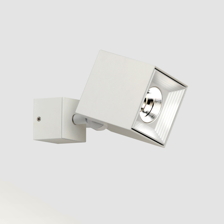 Dau by Milan – 3 1/8″ x 3 3/8″ Surface, Spots offers quality European interior lighting design | Zaneen Design