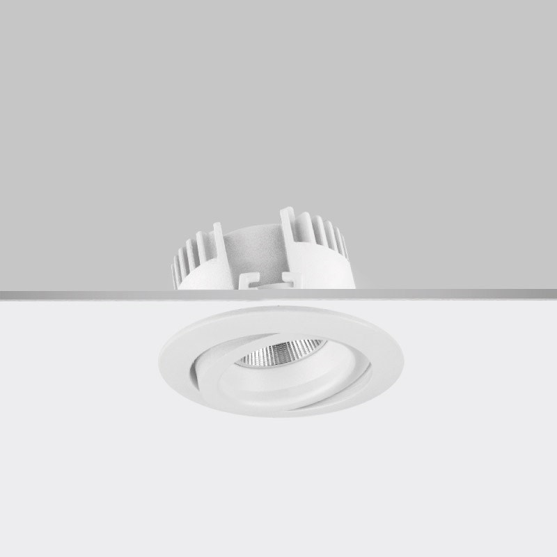 Dixit by Aria / Ivela – 3 3/4″ x 2 3/16″ Recessed, Downlight offers LED lighting solutions | Zaneen Architectural