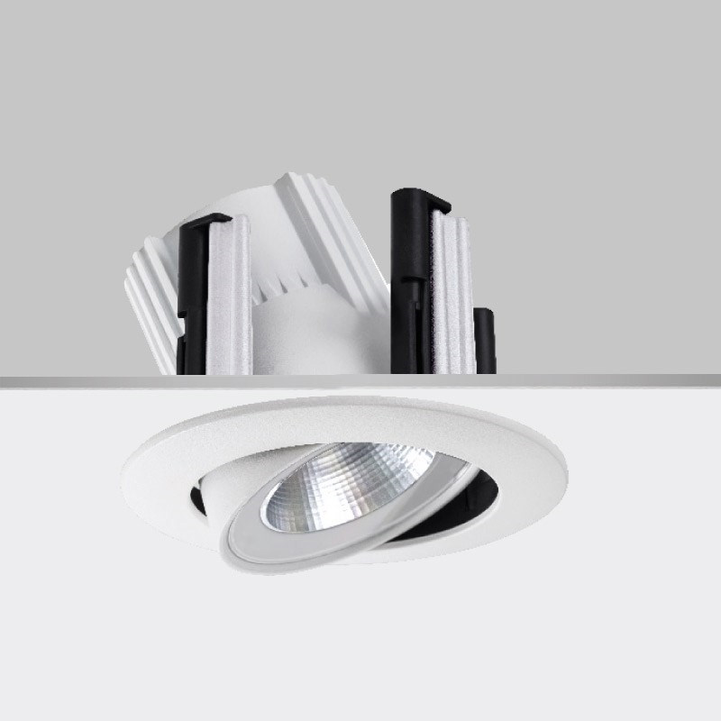 Dixit by Aria / Ivela – 6 5/8″ x 7 1/16″ Recessed, Downlight offers LED lighting solutions | Zaneen Architectural