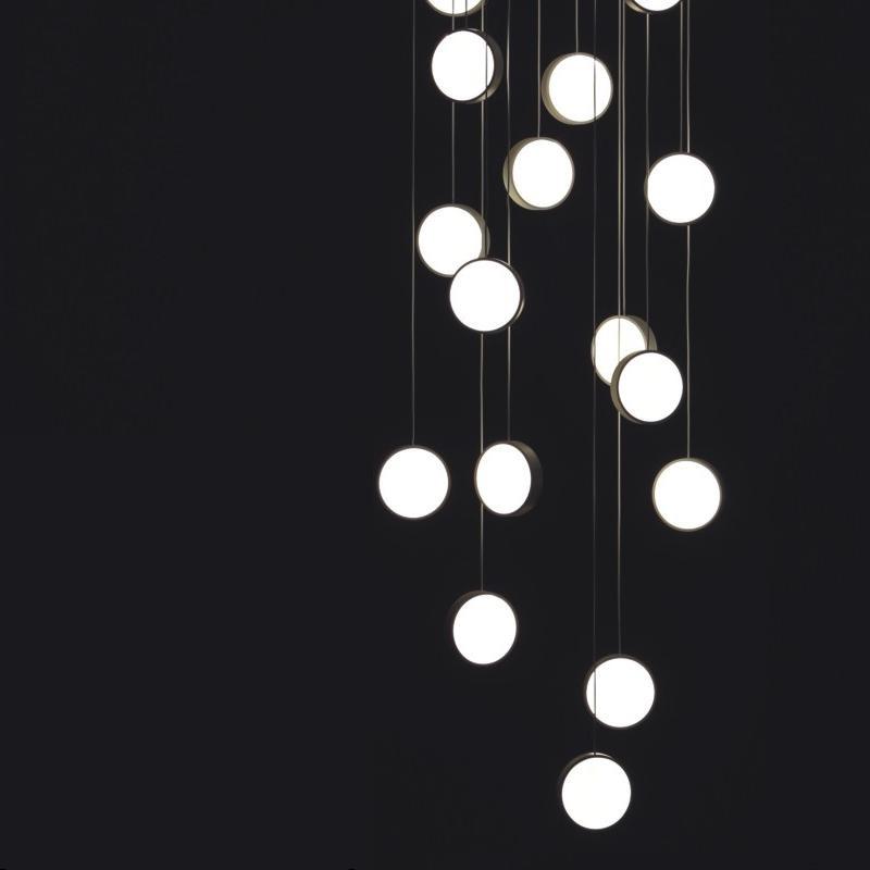 Do Not Disturb by Knikerboker – 35 7/16″ Suspension, Ambient offers quality European interior lighting design   Zaneen Design