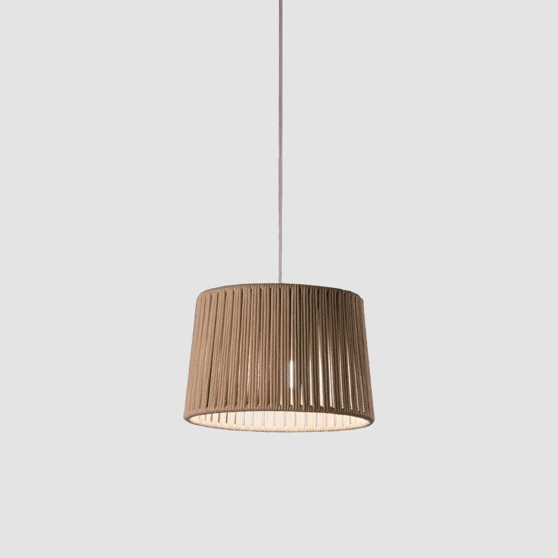 Drum by Ole – 11 13/16″ x 7 7/8″ Suspension, Up/Down Light offers quality European interior lighting design | Zaneen Design