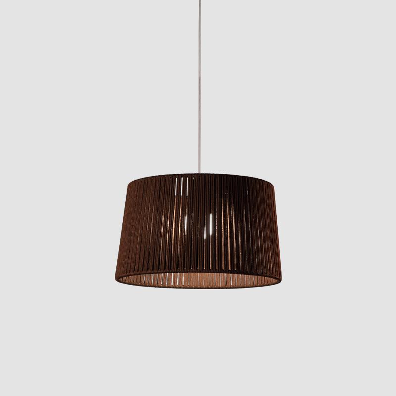 Drum by Ole – 19 11/16″ x 11 13/16″ Suspension, Up/Down Light offers quality European interior lighting design | Zaneen Design