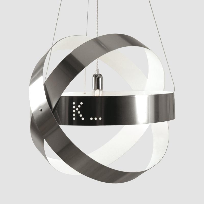 Ecliptika by Knikerboker – 23 5/8″ x 23 5/8″ Suspension, Pendant offers quality European interior lighting design | Zaneen Design