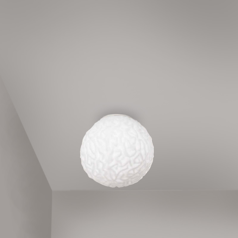 Emisfero by Icone – 9 13/16″ x 9 13/16″ Surface, Ambient offers quality European interior lighting design | Zaneen Design