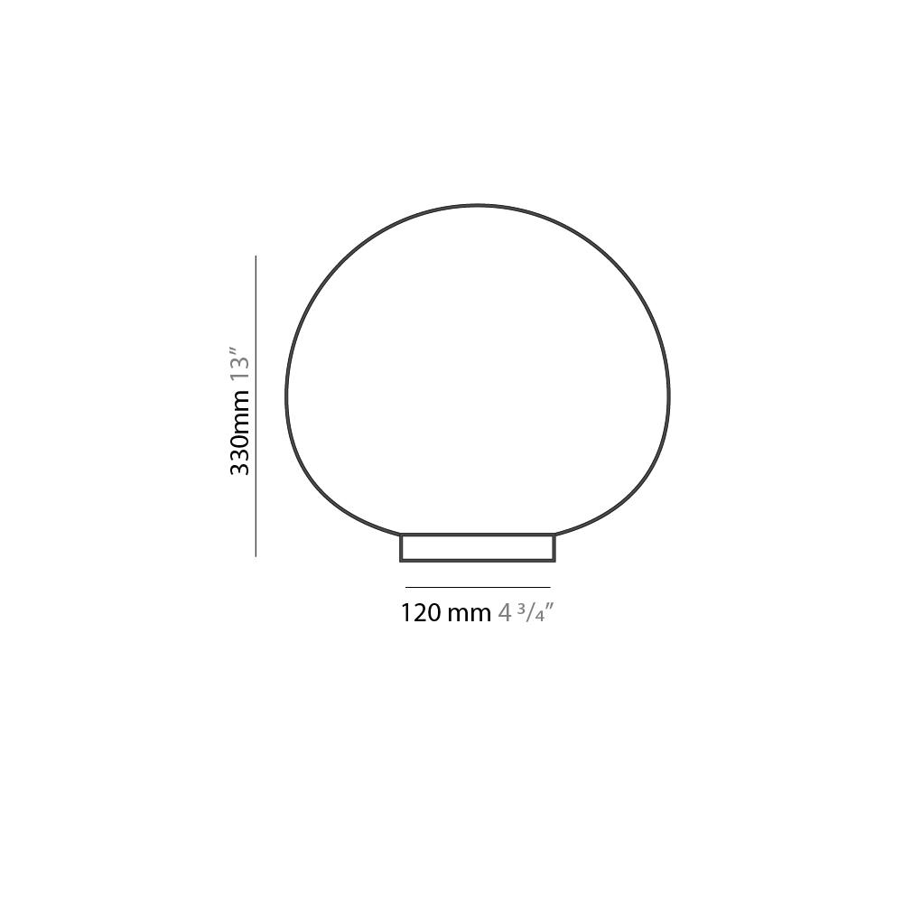 Emisfero by Icone – 13″ Portable, Table offers quality European interior lighting design | Zaneen Design