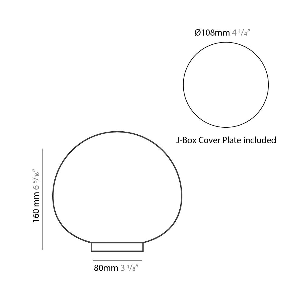 Emisfero by Icone – 6 5/16″ Portable, Table offers quality European interior lighting design   Zaneen Design