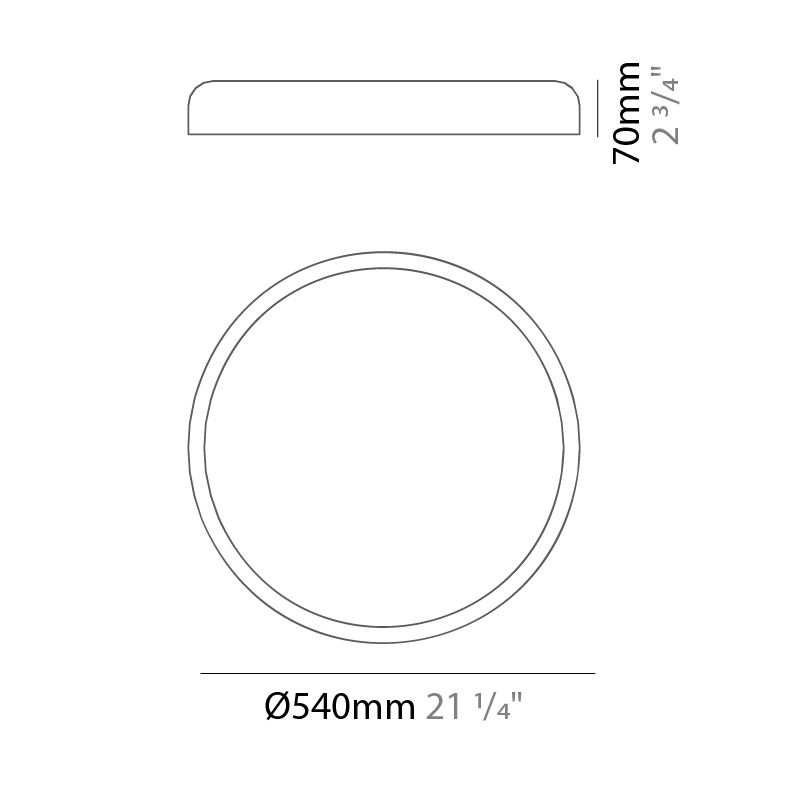 Evan by Ole – 21 1/4″ x 2 3/4″ Surface, Ambient offers quality European interior lighting design   Zaneen Design / Line art