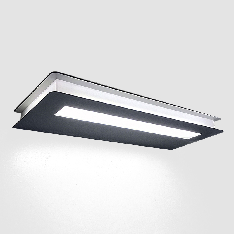 Flat by Panzeri – 14 15/16″ x 1″ Surface, Ambient offers quality European interior lighting design   Zaneen Design