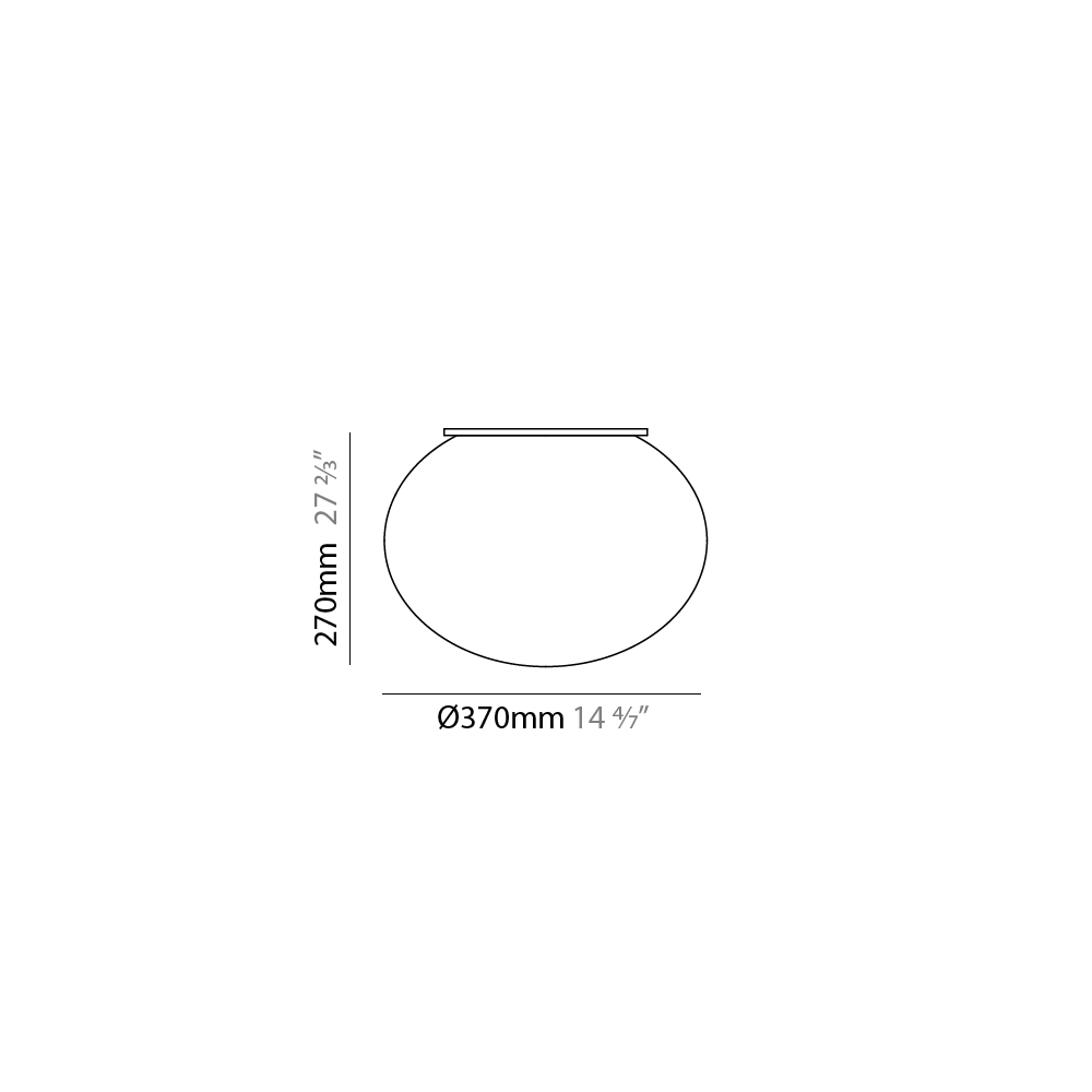Gilbert by Panzeri – 14 9/16″ x 10 5/8″ Surface, Ambient offers quality European interior lighting design   Zaneen Design