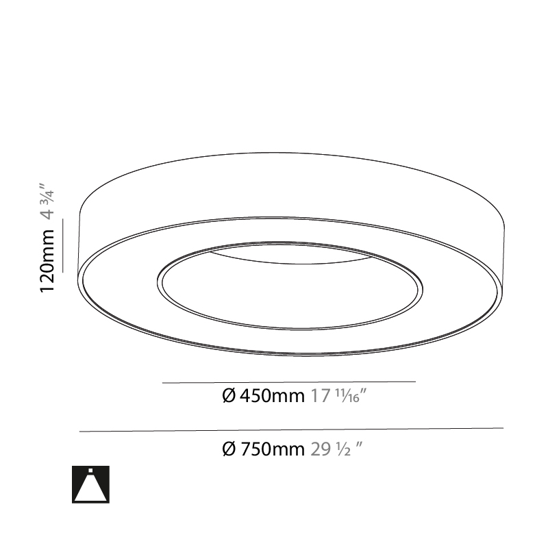 Glorious by Prolicht – 29 1/2″ x 4 3/4″ Surface, Ambient offers LED lighting solutions   Zaneen Architectural