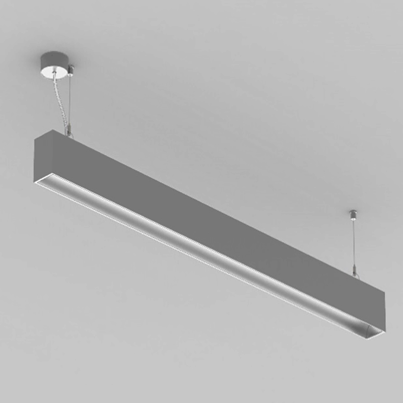 Groove by Prolicht – 57 9/32″ x 4 3/4″ Suspension, Profile offers LED lighting solutions | Zaneen Architectural