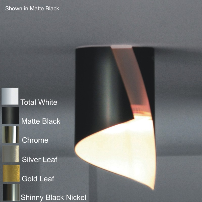 HUE by Knikerboker – 4 3/4″ x 8 1/4″ Surface, Downlight offers quality European interior lighting design | Zaneen Design