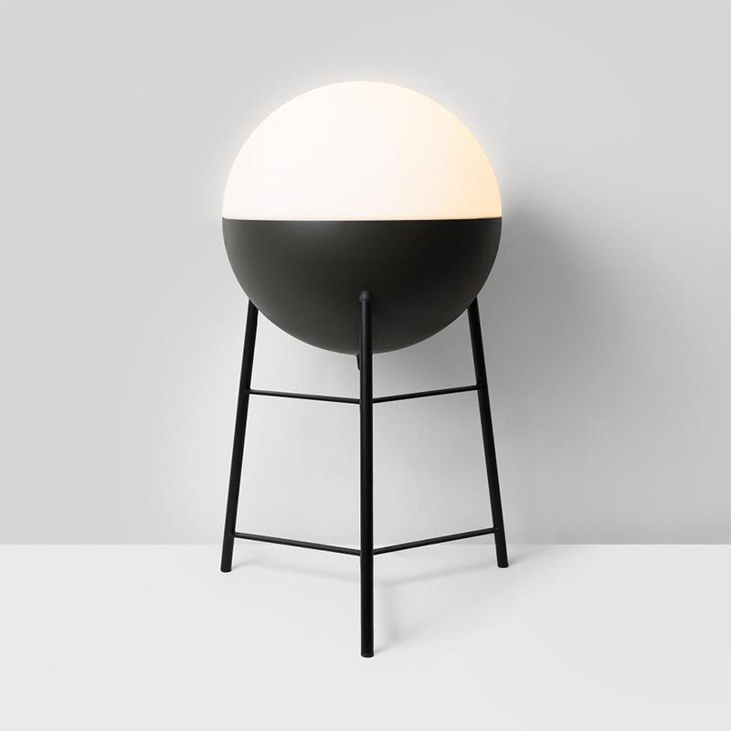Half by Milan – 9 13/16″11 1/4″ x 15 15/16″ Portable, Ambient offers quality European interior lighting design | Zaneen Design