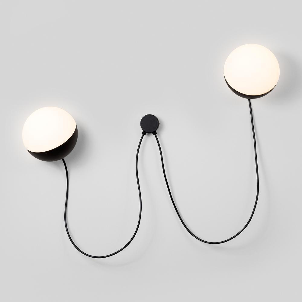 Half by Milan – 12 5/8″ x 6 5/16″ Surface, Ambient offers quality European interior lighting design | Zaneen Design