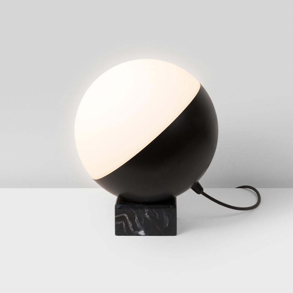 Half by Milan – 9 5/16″2 15/16″ x 10 5/8″ Portable, Ambient offers quality European interior lighting design | Zaneen Design