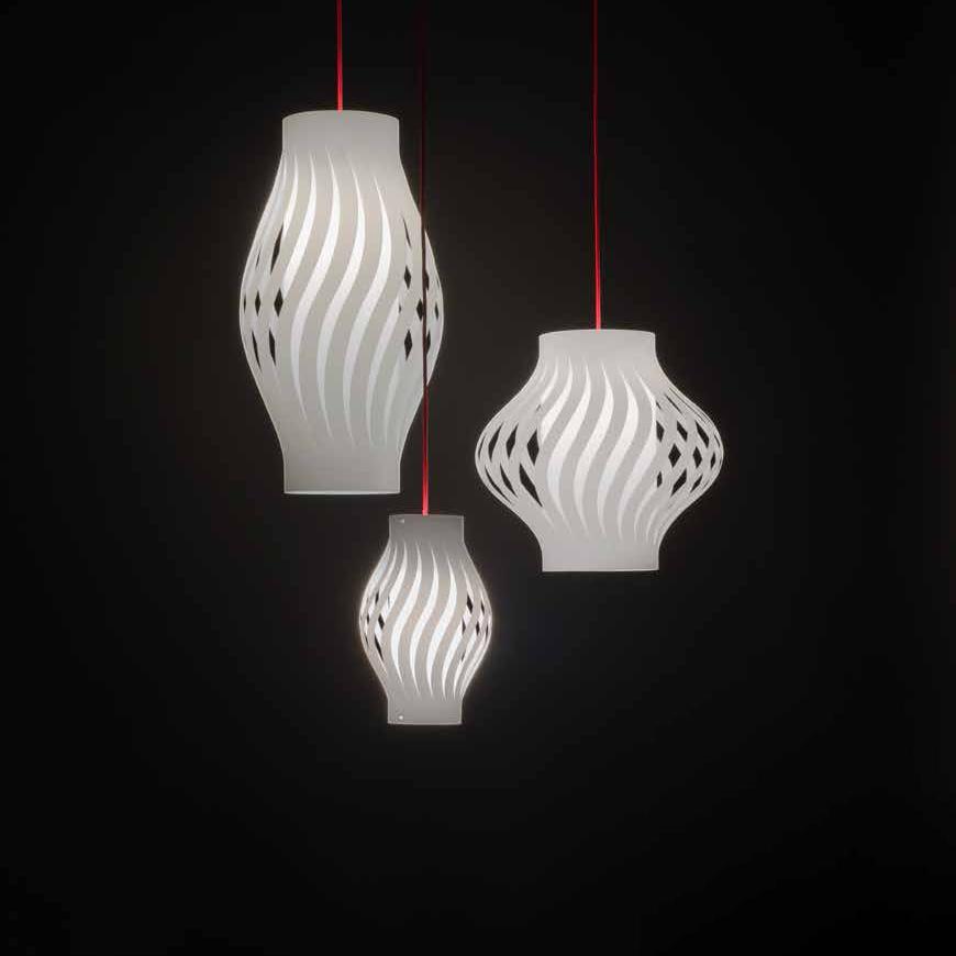 Helios by Linea Zero – 12 5/8″ x 35  7/16″ Suspension, Pendant offers quality European interior lighting design | Zaneen Design