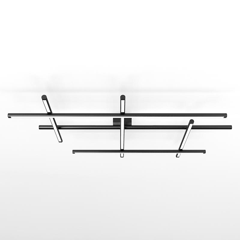 Hilow by Panzeri – 44 1/2″ x 5 1/8″ Surface, Pendant offers quality European interior lighting design | Zaneen Design