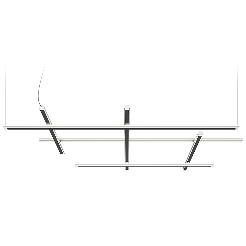 Hilow by Panzeri – 44 1/2″ x 2 3/4″ Suspension, Pendant offers quality European interior lighting design | Zaneen Design