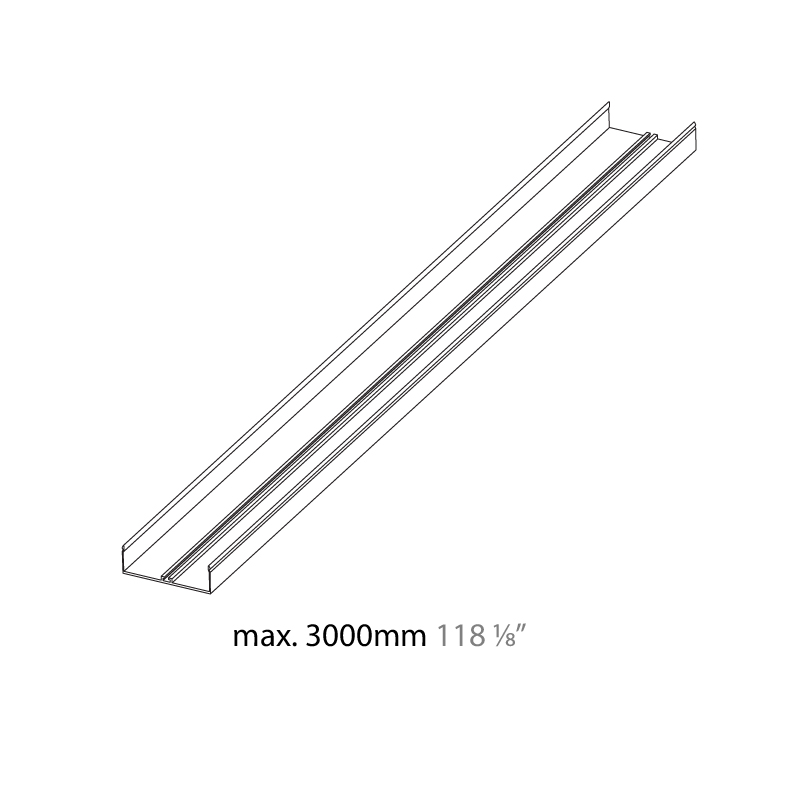 Idaho by Prolicht – 39 3/8″ x 1 1/16″ Recessed, Profile offers LED lighting solutions | Zaneen Architectural
