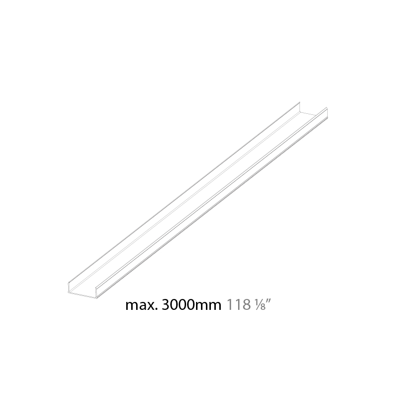 Idaho by Prolicht – 39 3/8″ x 1″ ,  offers LED lighting solutions | Zaneen Architectural