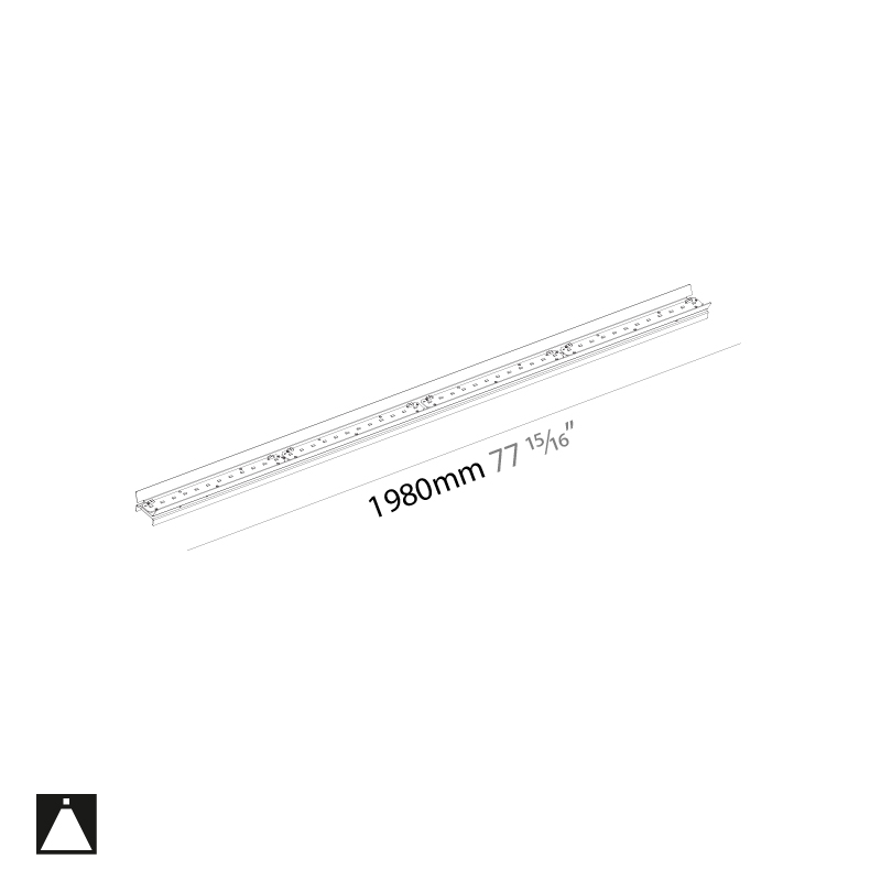 Idaho by Prolicht – 77 15/16″ x 1 15/16″ ,  offers LED lighting solutions | Zaneen Architectural