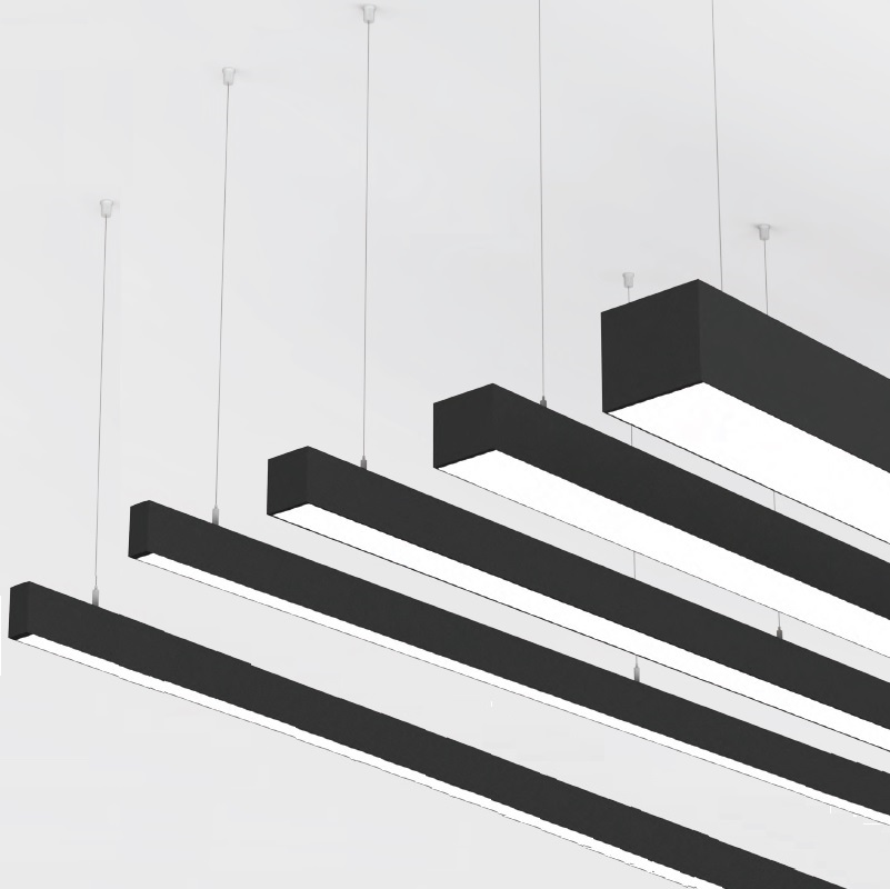 Idaho by Prolicht – Custom length″ Suspension, Profile offers LED lighting solutions | Zaneen Architectural
