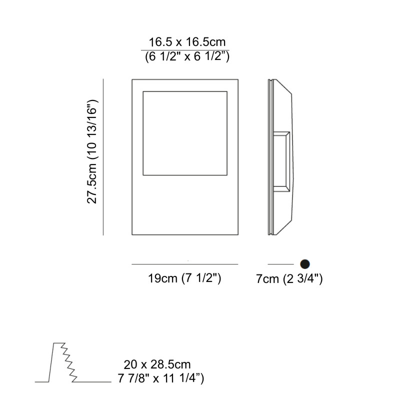 Invisibili by Panzeri – 7 1/2″ Trimless,  offers quality European interior lighting design | Zaneen Design